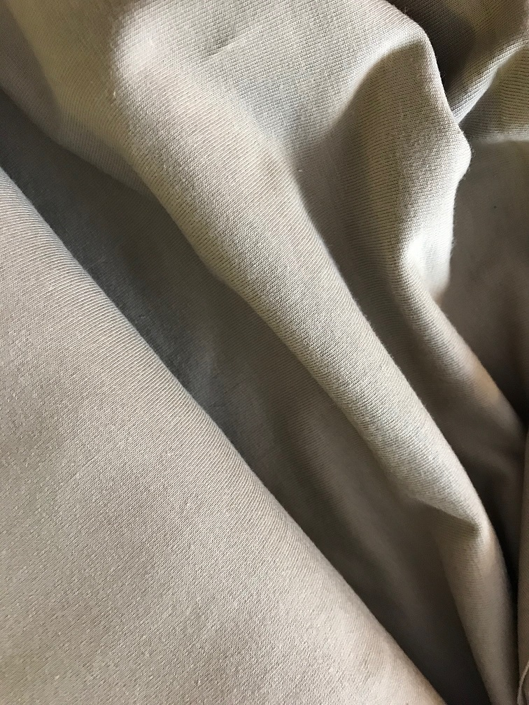 ♥UNI-JERSEY♥ 0.5m GITTE Jersey uni camel