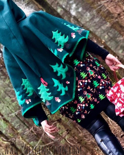 ♥TASCHEN-Wollfilz♥ 0.5m DUNKEL grün FOREST green