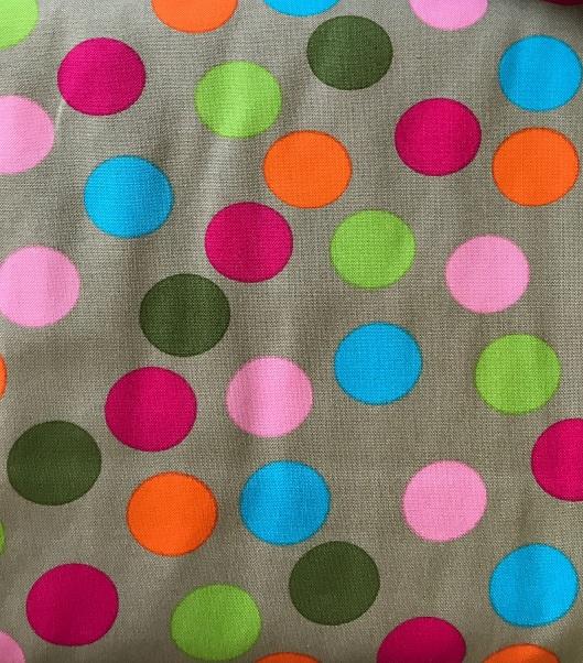 ♥POLKA DOTS♥ 0.5m COTTON coloured MADDOX
