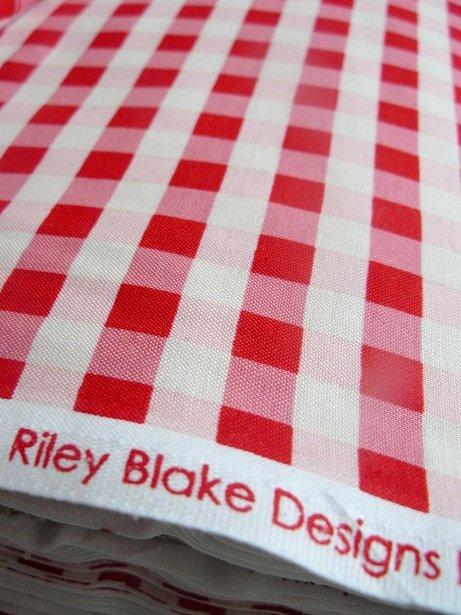 ♥RILEY BLAKE♥ LIEBlingsKARO Baumwolle METERPREIS
