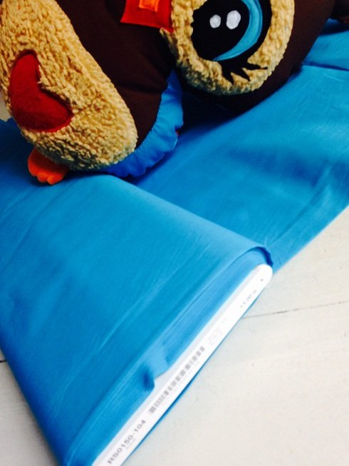♥COTTON♥ Popeline TURQUOISE blue PRICE PER METER