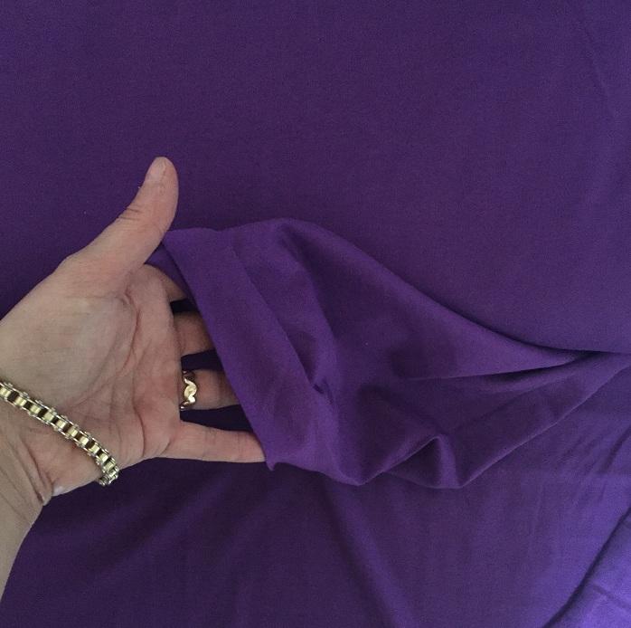 ♥UNI-JERSEY♥ 0.5 m JERSEY Lilac PURPLE