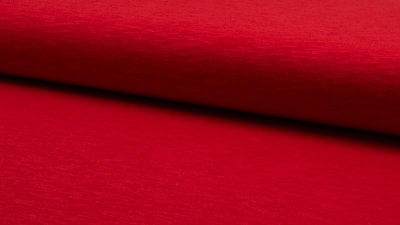 ♥UNI-JERSEY♥ cotton SLUB Jersey SPORTY red