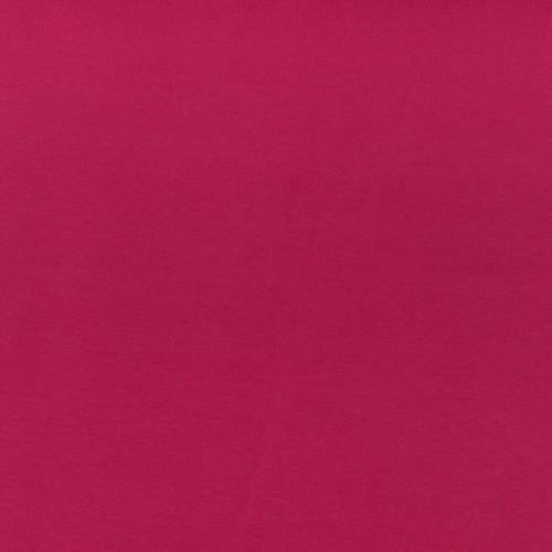 ♥UNI-JERSEY♥ 0.5m JERSEY fuchsia beere pink BASIC