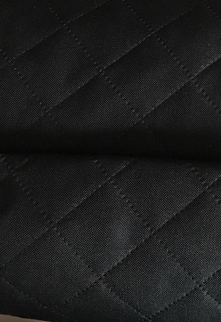 ♥STEPPER♥ 0,5m MOSKAU Taschenstoff SCHWARZ
