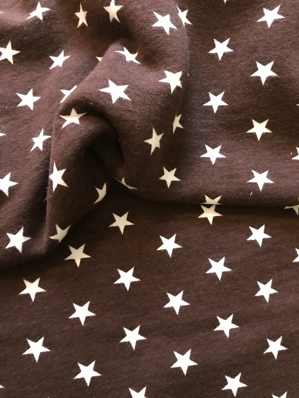 ♥SUPERSTARS♥ 0.5m BROWN Sweater WINTER brushed