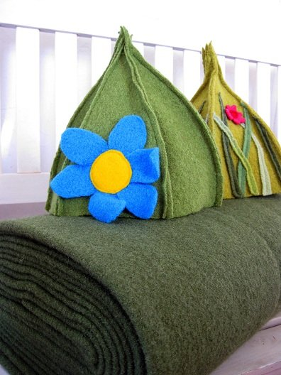 WALK wool FABRIC luxury ForestFAIRYgreen price per 0.5 METER