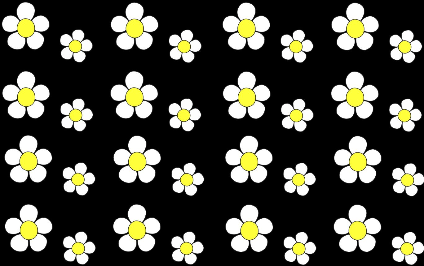 ♥MISS DAISY♥ 0.5m COTTON black by ZWERGENSCHÖN