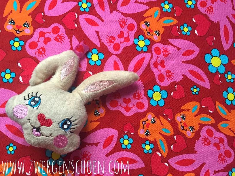 ♥HASENSCHÖN♥ 0.5m JERSEY Bunny LOVE