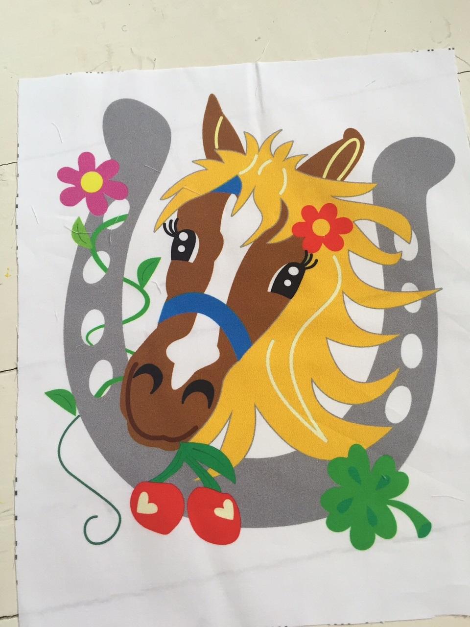 Stoffpaneel MON CHERI Pony LOVE