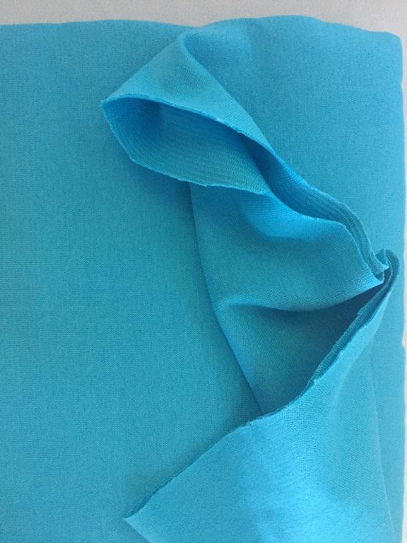 ♥CUFF♥ 0.25m powder turquise blue PRICE per 0.25m