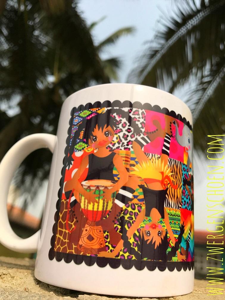 ♥AFRIKA-PÄTSCH wild GIRLZ♥ Tasse MUG Keramik