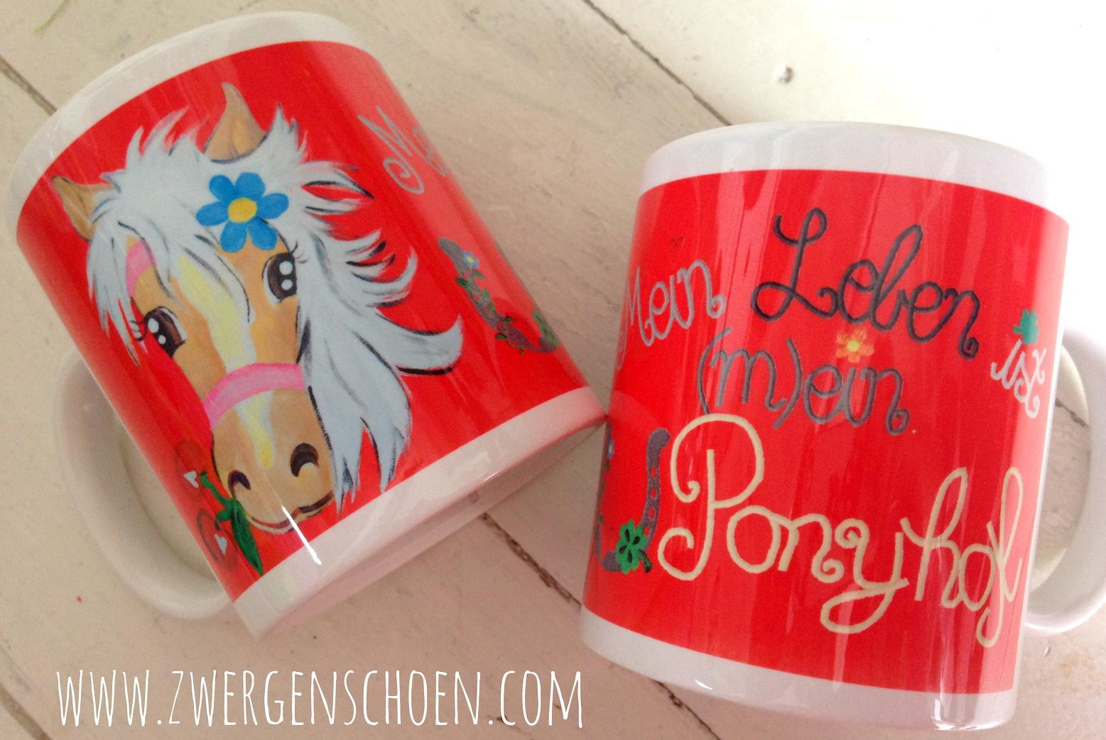 ♥MON CHÈRI♥ Tasse LIEBLINGS Pferd 0.3L