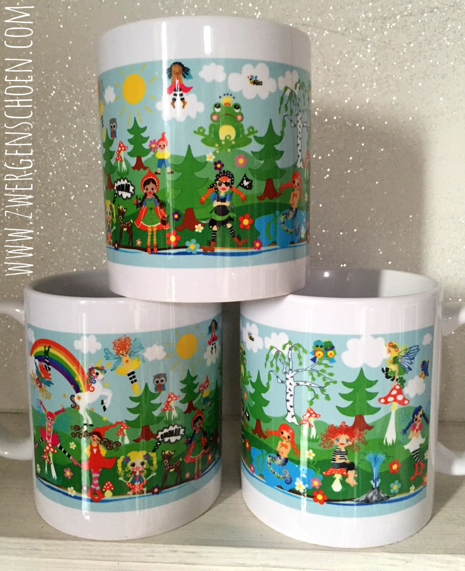 ♥NIMMERLAND the FABRIC Star♥ TASSE 0.3L