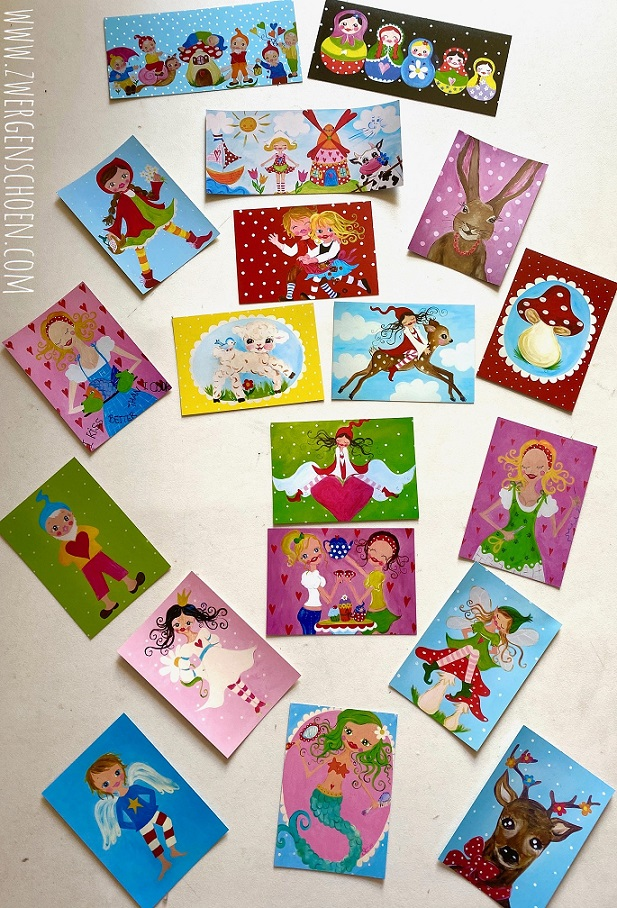 ♥FAIRY TALE♥ Postcard-SET 10of19