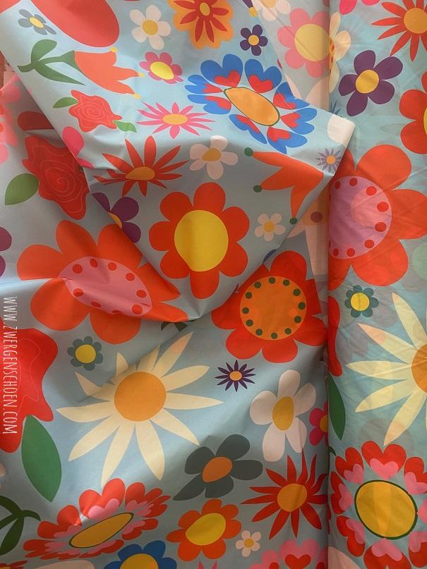 ♥BLUMENSCHÖN XXL♥ 0.5m NYLON Riesen-Blumen BLAU