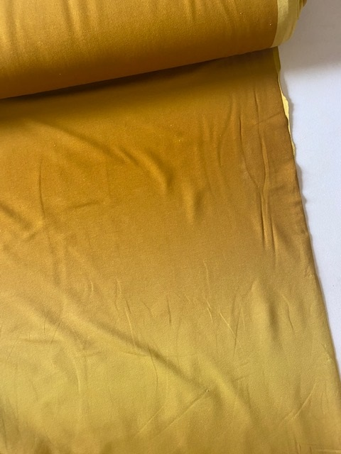 ♥FRENCH TERRY♥ 0.5m COLLEGE SWEATER ocre to yellow