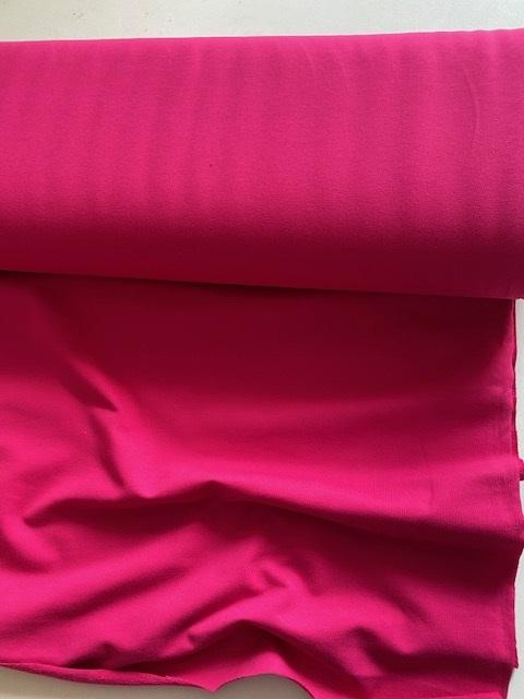 ♥FRENCH TERRY♥ 0.5m SWEATSHIRT hot PINK