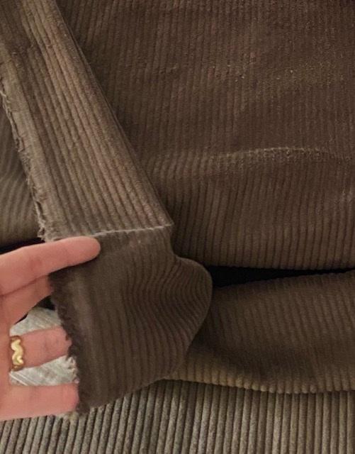 ♥BREITCORD♥ 0.5m CORD braun BAMBI 100%Baumwolle