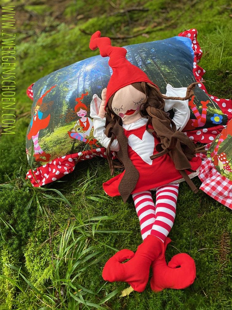 ♥MILLI im FRANKENWALD♥ Stoffpanel WEBWARE Blumen 45x75cm