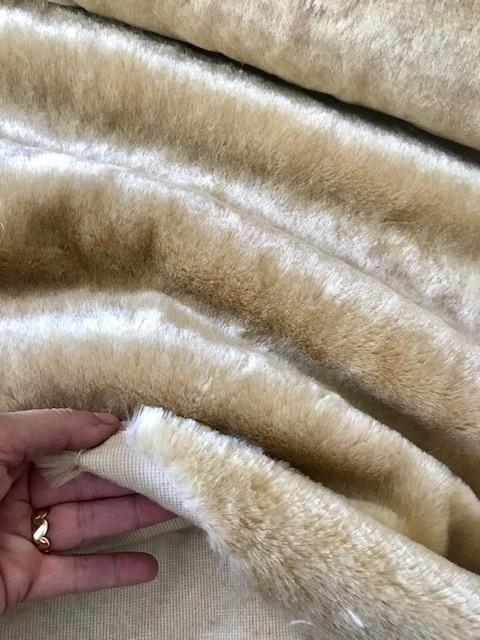 ♥FANCY FUR♥ 0.5m FAKE FUR beige