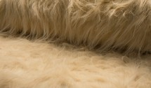 ♥BIGFOOT♥ 0.5m FELL Fake FUR beige ZOTTEL Langhaar