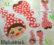 ♥MISSI♥ SET2 Stoffpaneel DIGITALDRUCK XS+M+XL